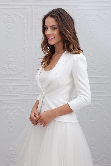 Crée ta robe de mariée : la veste 1