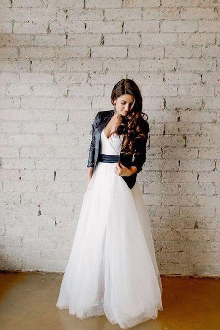 Crée ta robe de mariée : la veste 2