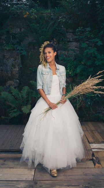 Crée ta robe de mariée : la veste 3