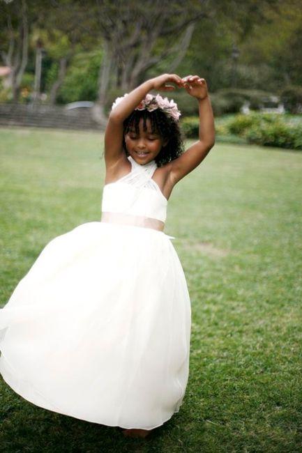 Le plus beau cliché d'enfants d'honneur est... 4