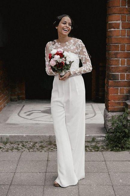 🥠 3 tenues pour le mariage civil, choisis ta préférée ! 1