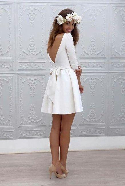 🥠 3 tenues pour le mariage civil, choisis ta préférée ! 2