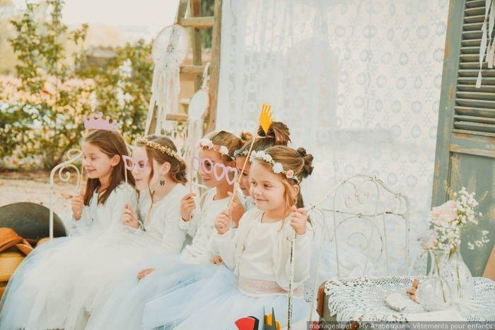 Y aura t-il des enfants à votre mariage ? 1