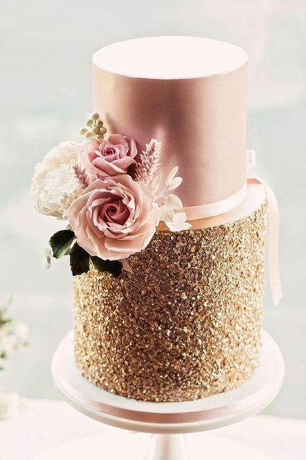 Bataille de styles : le wedding cake 💥 2