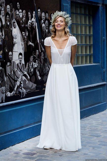 2 mariages, 2 robes. Laquelle préfères-tu ? 2