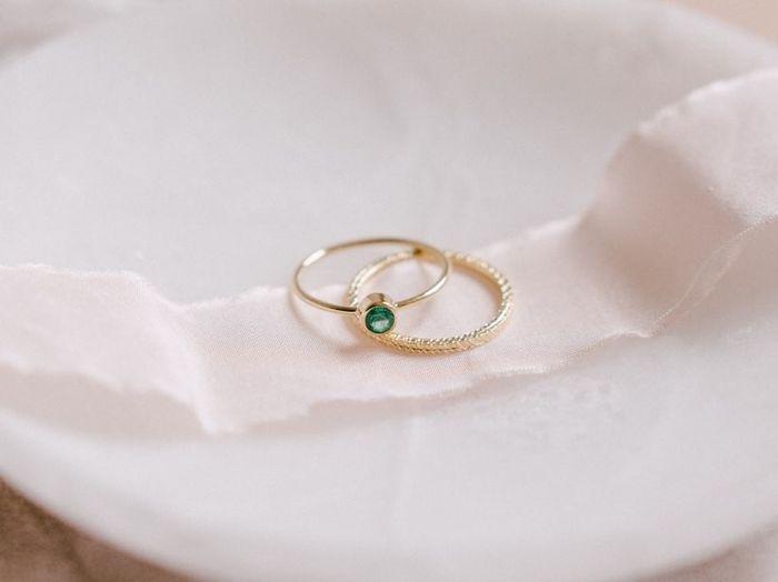 Si j'étais une bague de fiançailles, je serais... 1