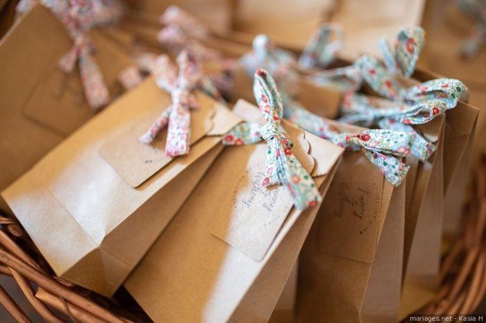 Le cadeau pour mes invités sera ____ 🎁 1