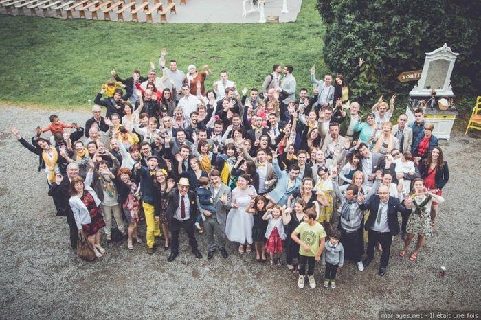 Les photos de votre mariage : vos invités ! 3