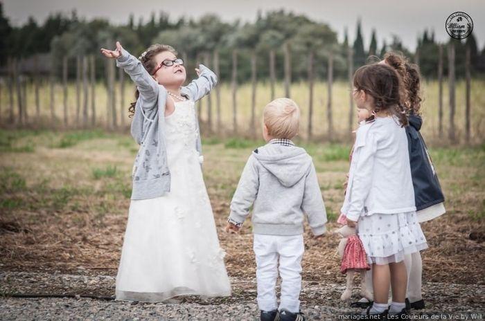 Les photos de votre mariage : les enfants ! 2
