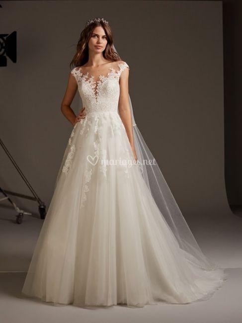 Pour ma robe de rêve je veux ce tissu ! 1