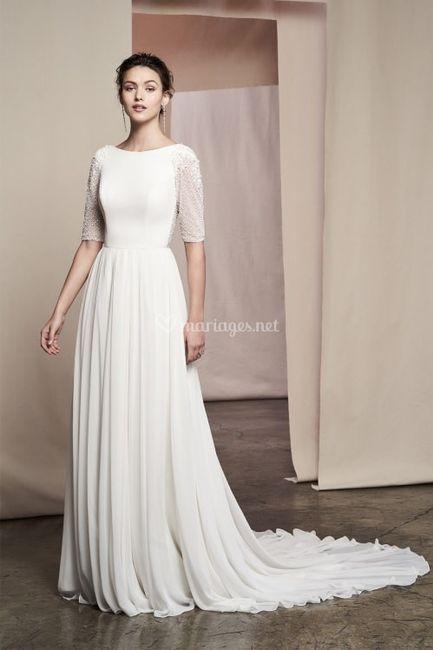 Pour ma robe de rêve je veux un décolleté ! 1