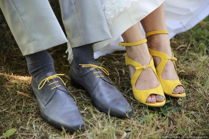 Quelle paire de chaussures vous représente le plus ? 1