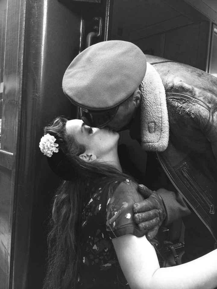 Echange d'un doux baiser