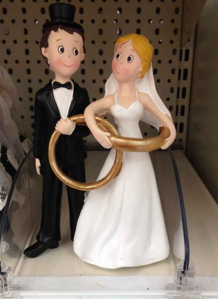 Figurines pour le gâteau - 1