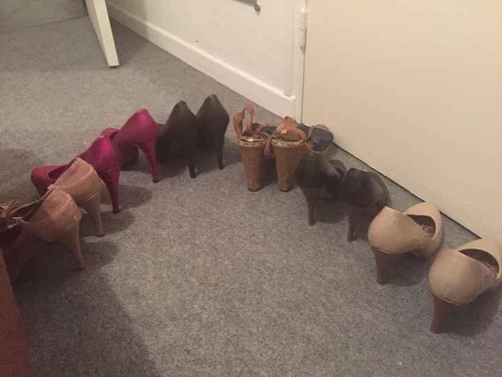 Trouver chaussures à son pied .... - 1