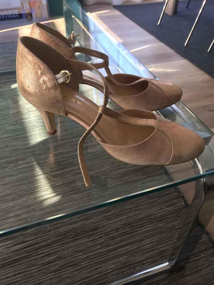 Mes chaussures de mariée - 1