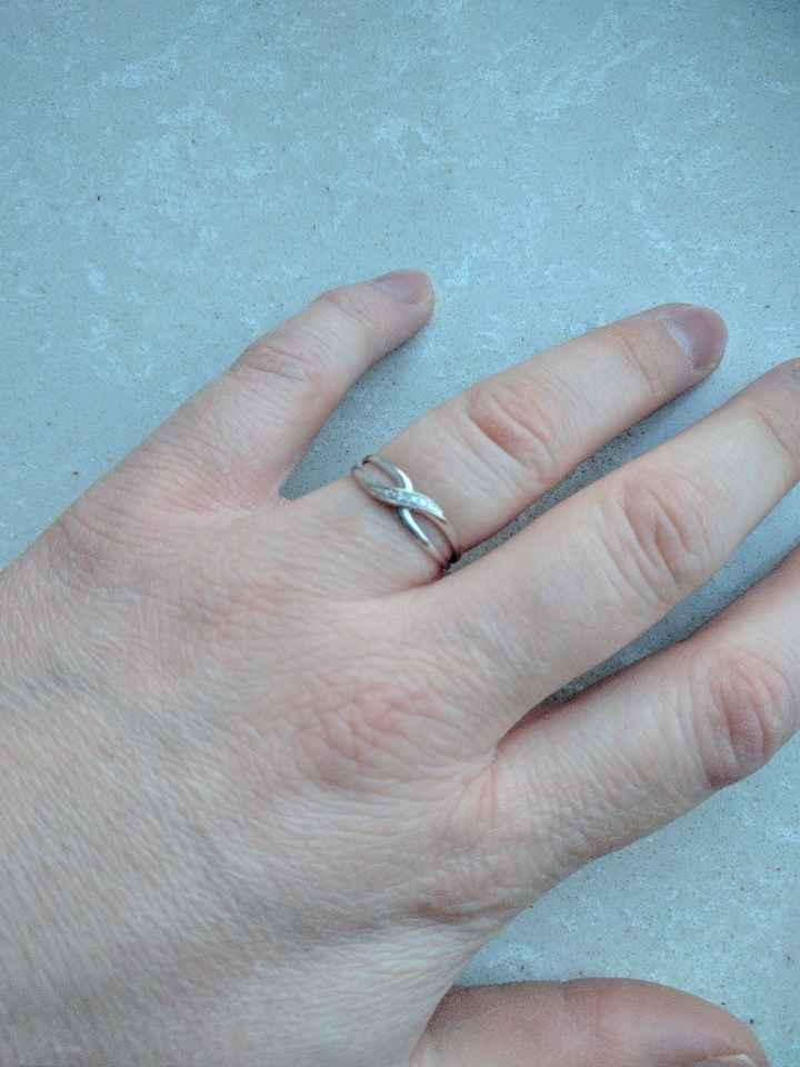 Ma précieuse enfin au doigt!!! - 1