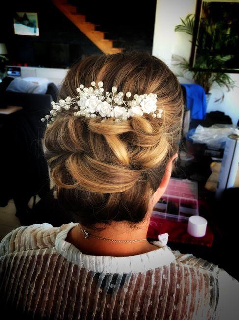 Essais coiffure 👍🏻 1