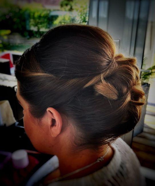 Essais coiffure 👍🏻 2