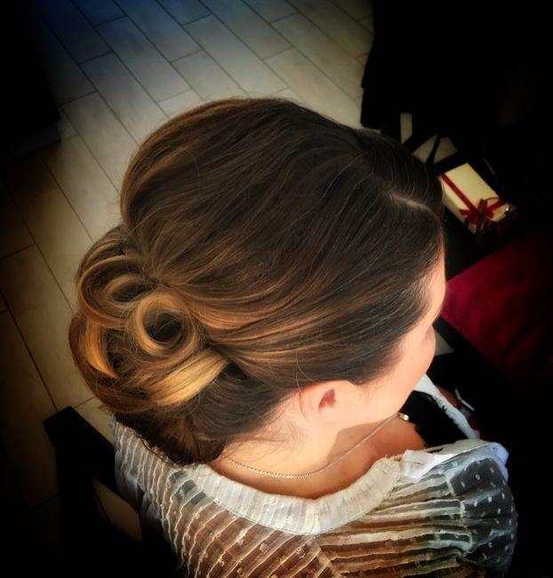 Essais coiffure 👍🏻 3