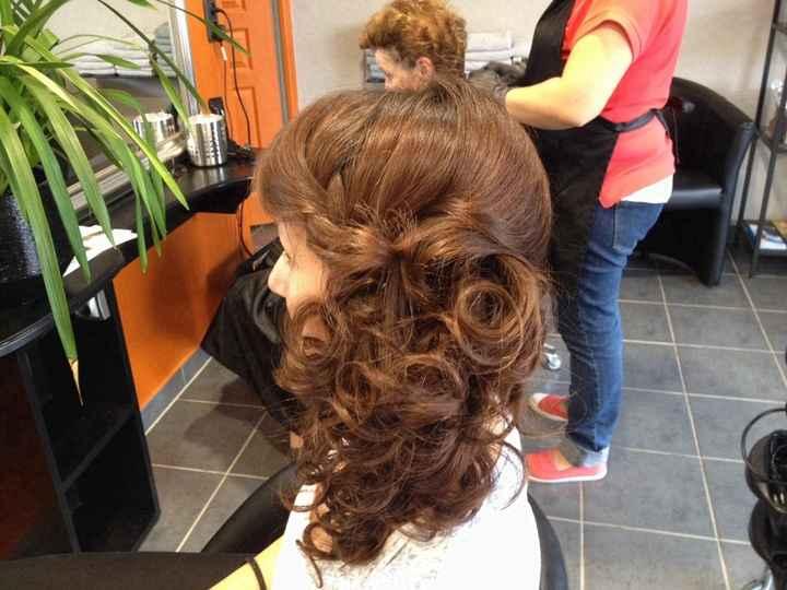 Deuxième test coiffure - 1