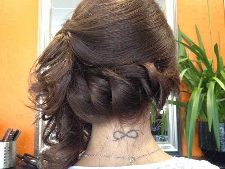 Deuxième test coiffure - 3