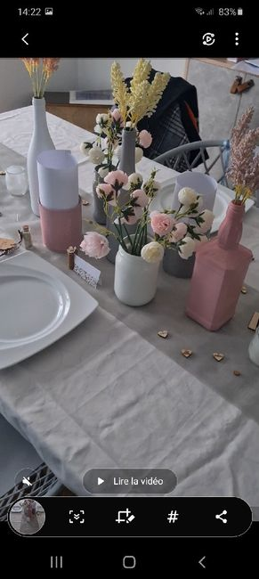 Essai table ❤🥰 - 1