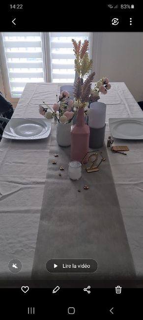 Essai table ❤🥰 4