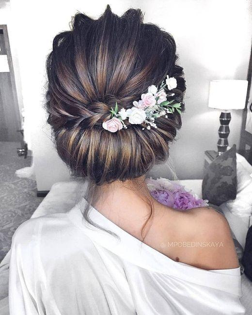 Inspiration : les coiffures des mariées 3