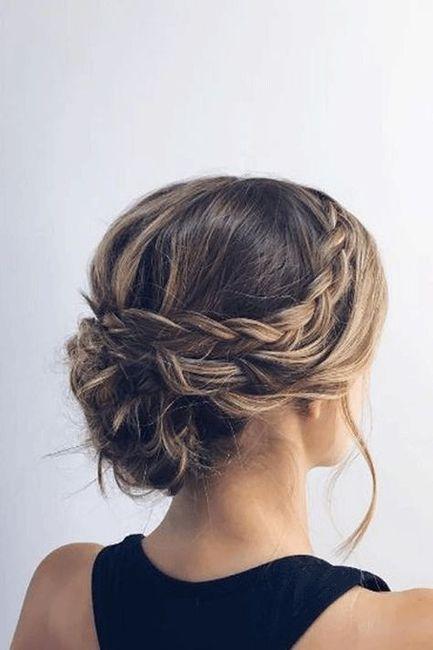 Inspiration : les coiffures des mariées 4
