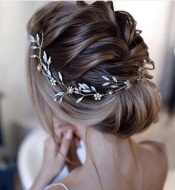 Inspiration : les coiffures des mariées 6