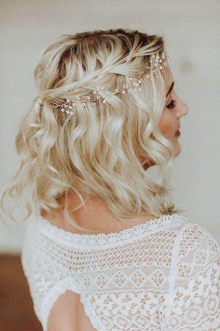 Inspiration : les coiffures des mariées 8