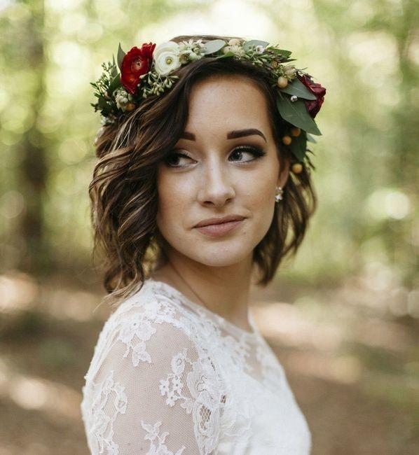 Inspiration : les coiffures des mariées 13