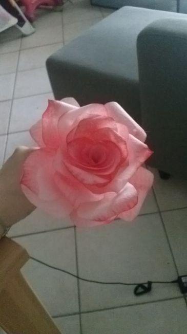 rose fait maison