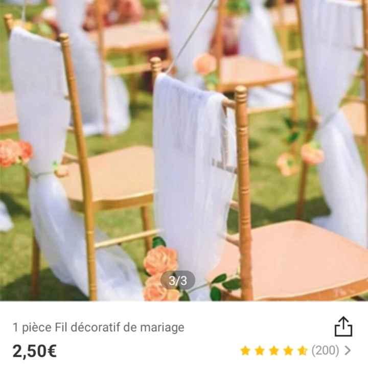 Décoration chaise - 2