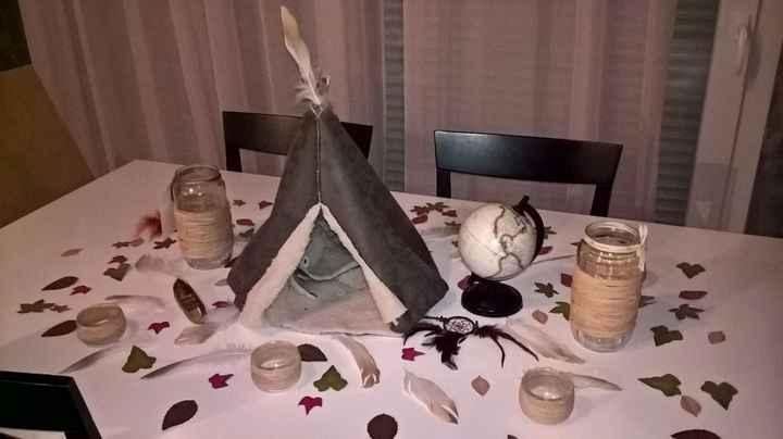 table pocahontas