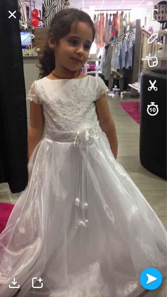 Robe de ma princesse acheté - 1