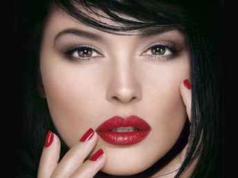maquillage bouche rouge
