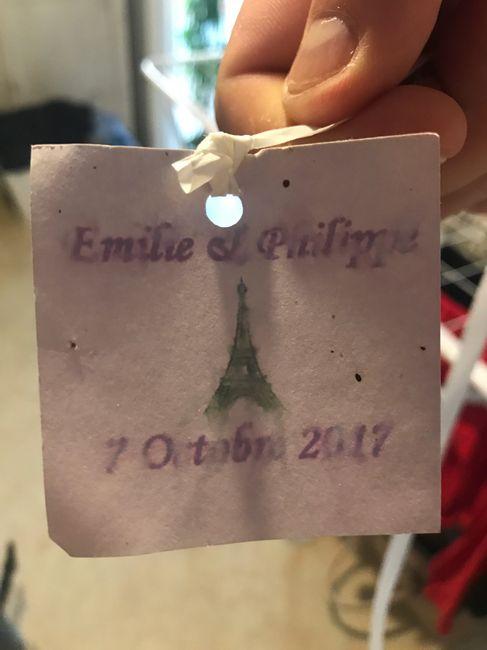 Emilie & Philippe mariage le 7 octobre 2017 - 1