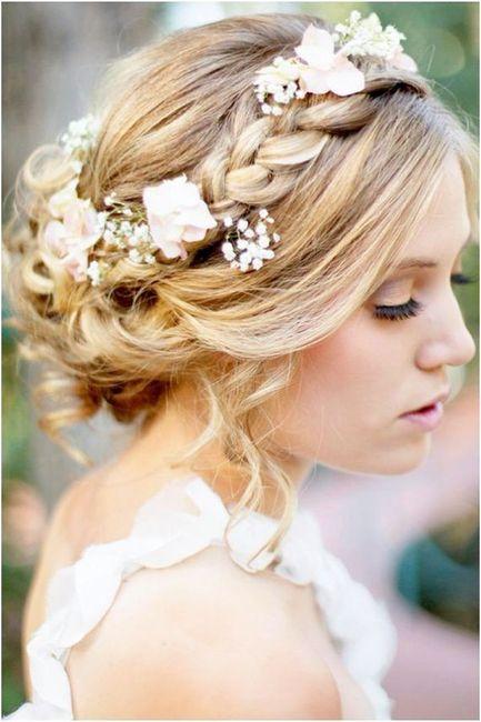 Quelles coiffures pour un mariage bohème,champêtre? 1