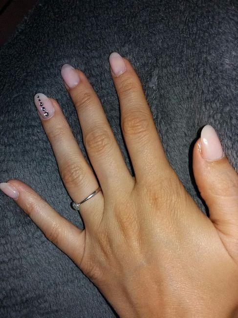 Les ongles pour le mariage 😍 - 1