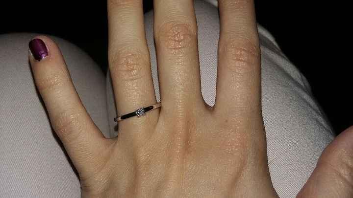 Avez-vous publié une photo de votre bague de fiançailles ? - 2