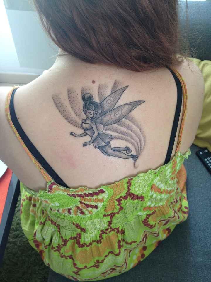 Mariée 👰🏻 tatouées montrez moi vos tatouages - 4