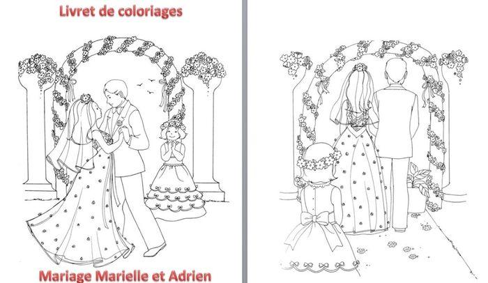 Livret De Coloriages Pour Les Enfants Organisation Du Mariage