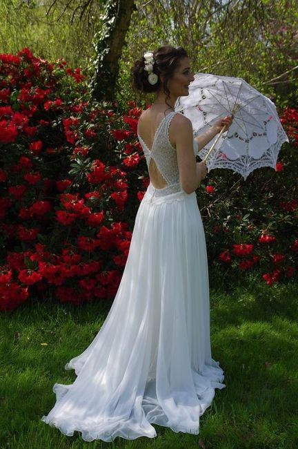 Coiffure mariage champêtre romantique 5