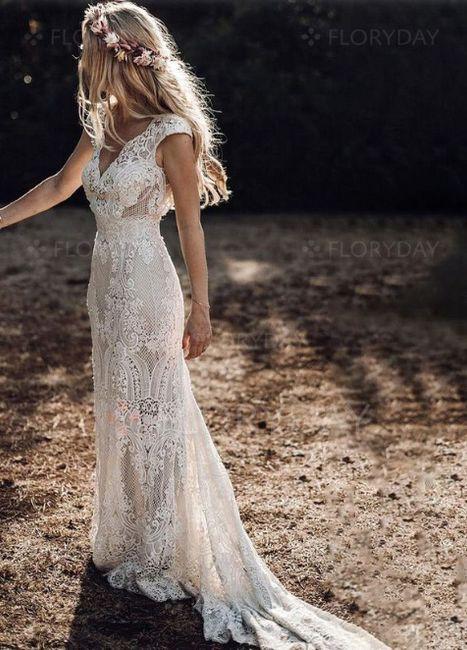 Robe de mariée Bohème (un peu atypique) 1