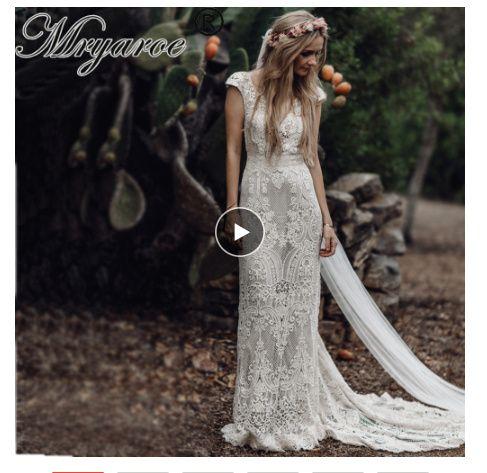 Robe de mariée Bohème (un peu atypique) 9