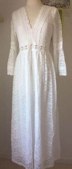 Robe de mariée Bohème (un peu atypique) 5