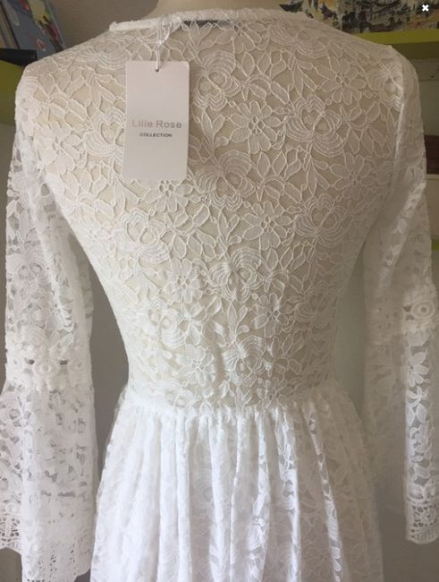 Robe de mariée Bohème (un peu atypique) 6