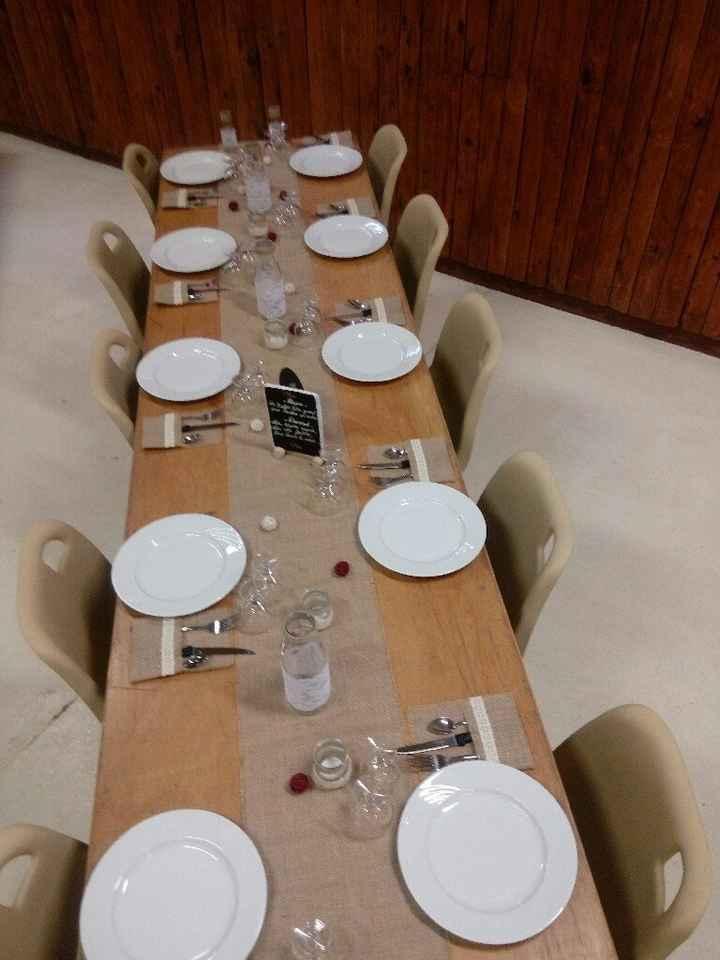 Essai table et mise en place de la salle - 3